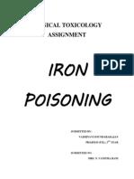 Iron Poisoning