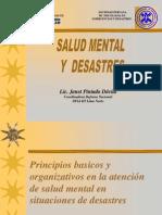 Defensa Nacional-salud Mental en Desastres