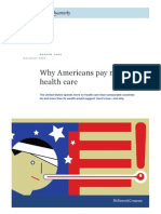 Why Americans Pay More for Health Care