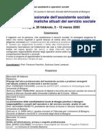 Etica Professionale Corso 2003