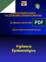 Post Desastres Vigilancia Epidemiologica