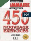 Grammaire 450 Nouveaux Exercises