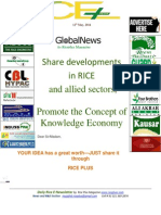 12th May,2014 Daily Global & Exclusive ORYZA E-Newsletter by Riceplus Magazine