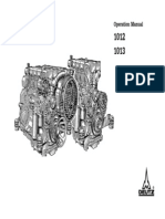 Deutz 1012 1013 Operation and Maintenance Manual
