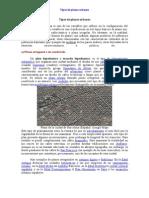 Tipos de Planos Urbanos