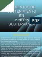 Elementos de Sostenimiento 2011 - 2