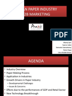 Indian Paper Industry- B2B Marketing