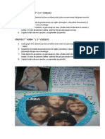 Project Abba y Beatles Para Tercer Ciclo.