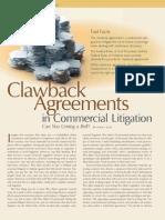 Clawback Clasue