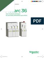 SCHNEIDER Flusarc 36 36kV Gas Insulated_en