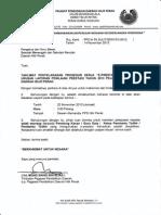 Surat PPD Hilir Perak pada 2013