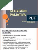 Sedacion paliativa