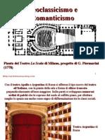 8 Storia Della Scenografia Neoclassicismo e Romanticismo