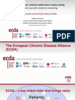 Catherine Hartmann Secretary General of the European COPD Coalition- 8th European Patients' Rights Day, Brussels May 12th 2014