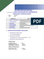 Informe Diario Onemi Magallanes 12.05.2014