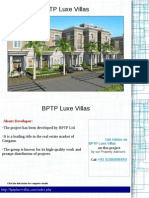 BPTP Luxe Villas Call @ 09999536147-A World of Changing Lifestyle Project