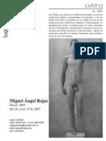 Vitrina Miguel Angel Rojas