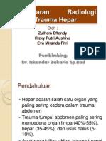 Gambaran Radiologi Pada Trauma Hepar