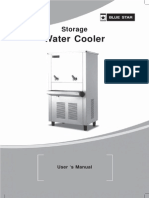 Water-cooler - User Manual