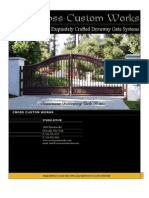 Aluminum Driveway Gates
