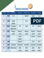schedule 2015 61 sabrli