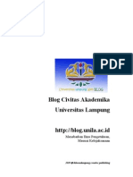 Tutorial Dasar Blog Unila