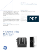 4-Channel Video Multiplexer