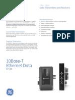 10Base-T Ethernet Data