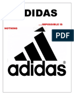 modes of advertising of ADIDAS