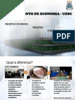 2013-2 - Apresentação - Projeto de Ensino, Pesquisa e Extensão
