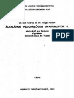 Varga-Ált. Pszichológiai Gyakorlatok 2. Kötet_TELJES
