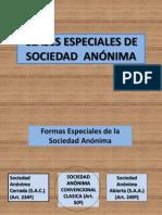 Diapositiva Tipos Especiales de Sociedades