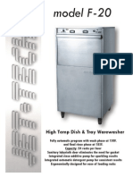 Jet Tech F 20 Dishwasher