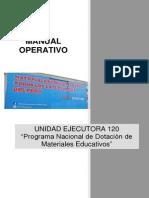 MANUAL OPERATIVO UE 120-Dotación de Materiales Educativos (8)