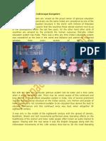 Play School in Indira Nagar Bangalore