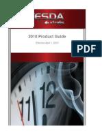 VESDA by Xtralis Product List 20JAN10 RevI[1]