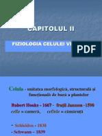 Curs II fiziologie