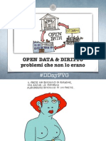 OPEN DATA & DIRITTOproblemi che non lo erano