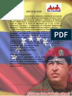 Invitacion. José Colmenarez