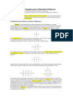 Química Orgánica Para Materiales Polimeros