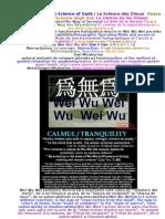 Wei Wu Wei Stiinta zeilor / The Science of Gods / La Science des Dieux/  Наука Богов La Scienza degli Dei/ La ciencia de los Dioses