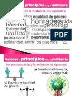 Valores y Principios Del Militante