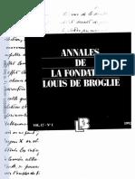 These Broglie