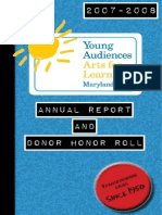 2008 Annual Report and Donor Honor Roll