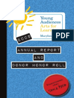 2009 Annual Report and Donor Honor Roll