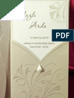 Modele Speciale de Invitatii de Nunta de La Crisia Shop