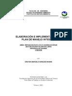 Tesis_ Elaboracion e Implementacion de Plan de Manejo Integral Para Carretera
