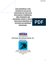 Aula 02- Sistema Internacional de Medidas