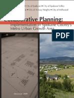 2009 Joint Development Study - Collaborative Planning (Spokane County)