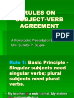 Rulesonsubject Verbagreement 110809065839 Phpapp01